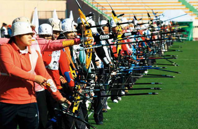 Archers compete for spots on the 2011 National Team.