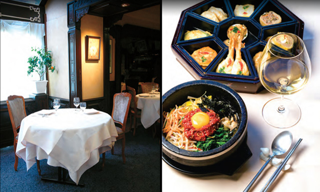 korean restaurants around the globe : korea : the official