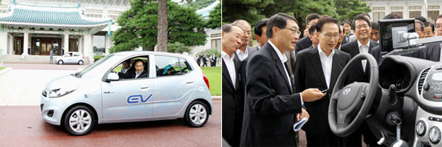 Korea Releases High Speed Electric Car The Official Website Of The Republic Of Korea