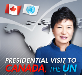 Presidential visit to Canada, the UN