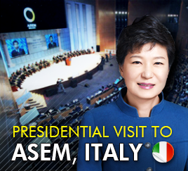 Presidential visit to ASEM, Italy