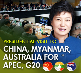 Presidential visit to China, Myanmar, Australia for APEC, G20