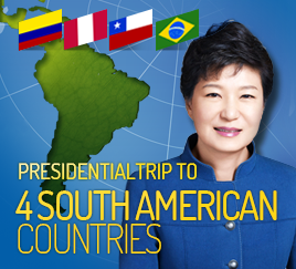 Presidential trip to 4 South American countries