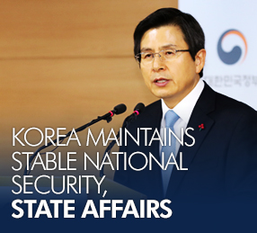 Korea maintains stable national security, state affairs