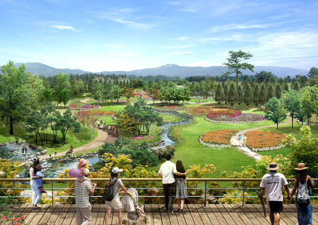 Suncheon Bay Garden Expo 2013, slated to open on April 20, provides a great chance to experience a variety of garden styles and learn about the significance of biodiversity