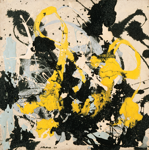 "Jackson Pollock ""No. 22"" (1950), Philadelphia Museum of Art (image courtesy of the NMOK)"