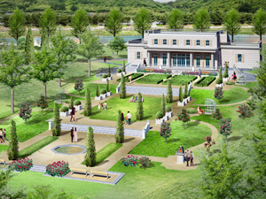 French Garden Is Reminiscent Of Versailles Palace Photo Courtesy International Exposition Suncheon Bay