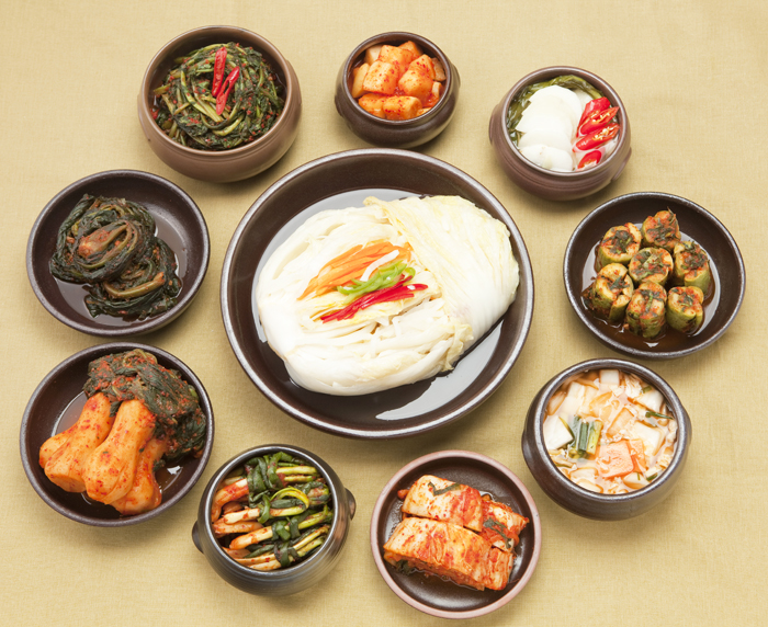 There are thousands of variants of kimchi.