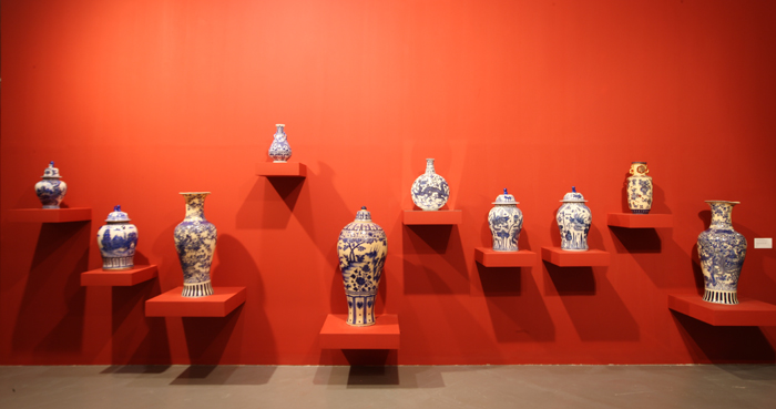 "The ""Translation Vases"" series is on display at the MMCA (photo courtesy of MMCA)."