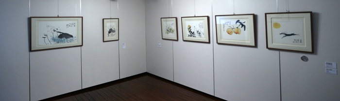The inaugural exhibition of the Park No-soo Art Museum displays paintings as well as possessions donated by Park (photos: Jeon Han).
