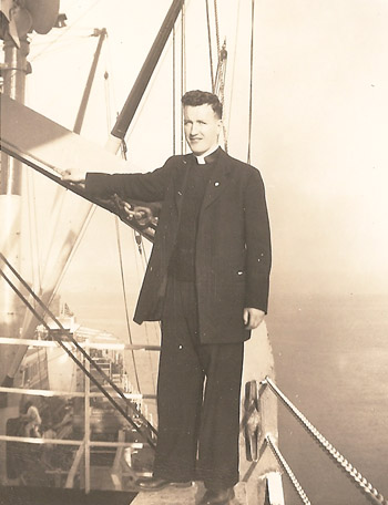 Father Yim Pi-jae arrived in Korea when he was 25 years old.
