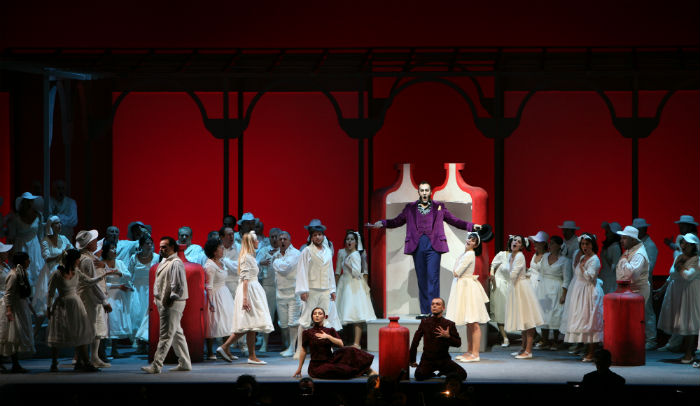 """The opera """"The Elixir of Love"""" portrays the love story of naive young man Nemorino."""