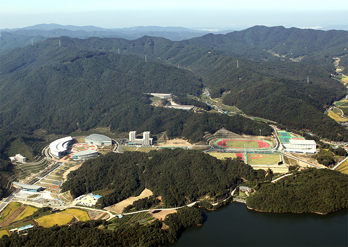 The Jincheon National Training Center is expected to be the cradle of Korean elite sports in the 21st century.