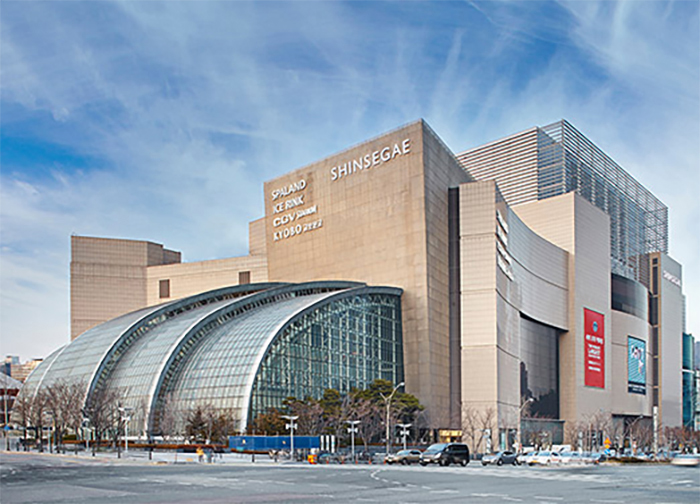 The Shingsege Department Store at Centum City in Busan is one of the biggest shopping malls in the world (Photo: shinsegae.com).