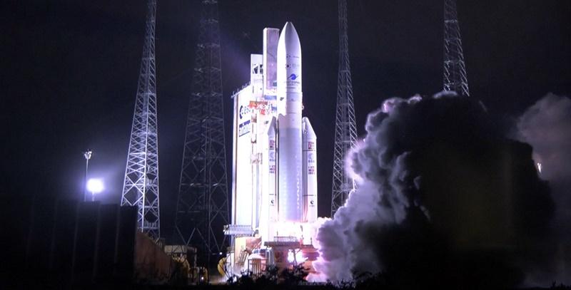 정지궤도 해양·환경 위성 '천리안 2B호'가 18일(현지시각) 오후 7시18분 남아메리카 프랑스령 기아나의 기아나 우주센터에서 발사됐다. 과학기술정보통신부