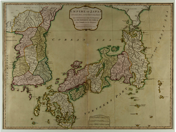 Ancient Maps Refer To East Sea Koreanet The Official Website - Japan uk map