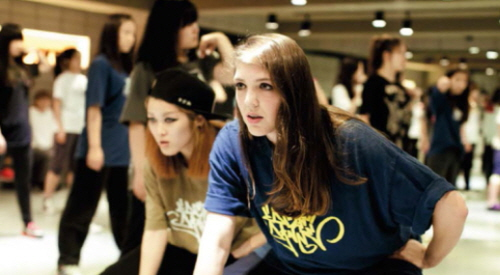 Carlson Allen is a student at DEF Dance School learning K-pop and Korean hip-hop dance.