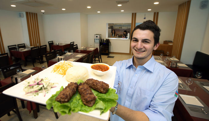Young entrepreneur bridges korea azerbaijan with food for Azerbaijani cuisine