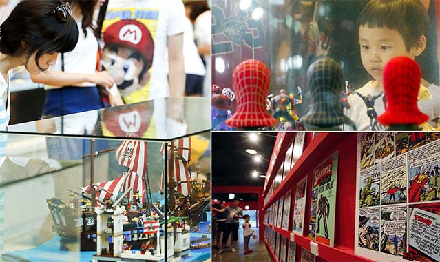 The exhibits at the 15th annual Bucheon International Comics Festival featured familiar characters from popular comics series as well as new works by up-and-coming illustrators (photos courtesy of KOMACON).