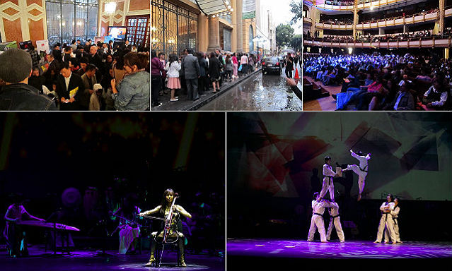 The pre-opening of Korean Cultural Center event held on March 10 was flocked with a crowd eager to take in Korean cultural performances despite the rain (photos courtesy of KOCIS).