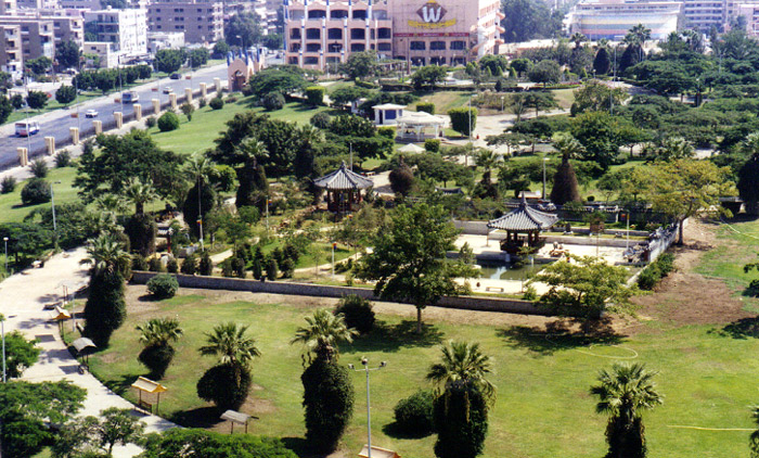 Seoul Garden was built in Cairo, Egypt, in 1998 as part of the sister city exchange project (photo courtesy of Seoul Metropolitan Government).