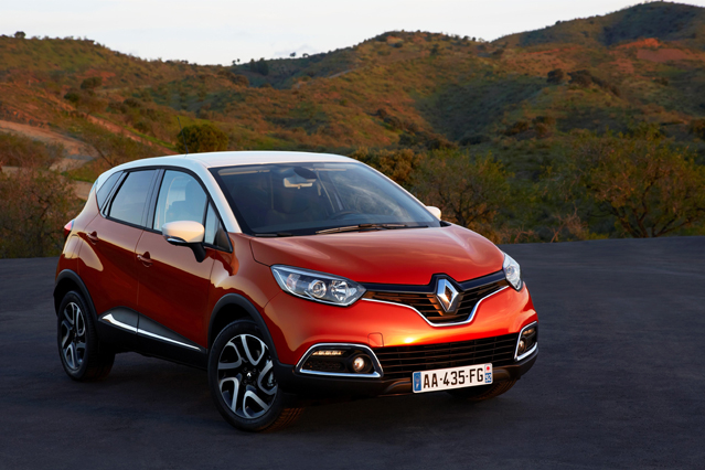 Renault Samsung Motors' compact crossover SUV Captur will be unveiled at the Seoul Motor Show (photo courtesy of Renault Samsung Motors).