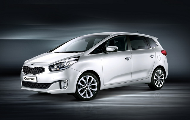 The next generation Kia Carens compact minivan will have its Asian premiere at the Seoul Motor Show (photo courtesy of Hyundai Motor Group).