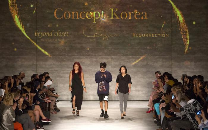 Concept Korea Wows New York Fashion Week Korea Net The Official Website Of The Republic Of Korea