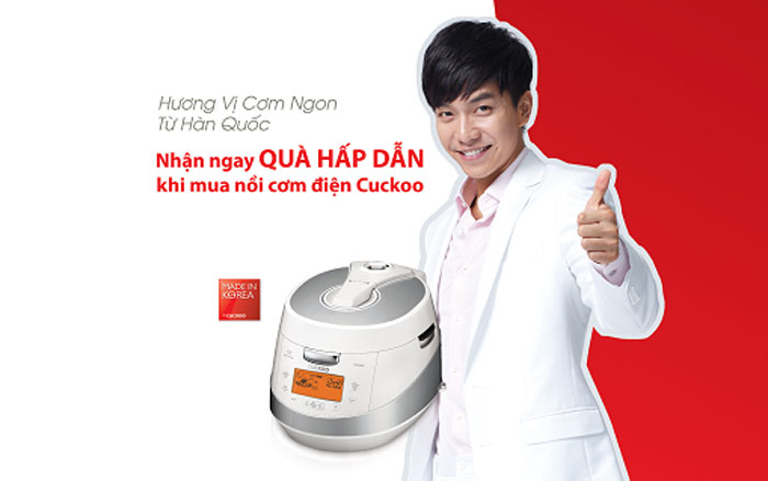 Cuckoo rice cookers enjoy popularity in Vietnam, where they're seen as high-quality, high-feature kitchen appliances.