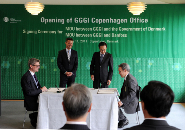 Opening its first overseas office in Copenhagen, Denmark last year, the GGGI has become a think tank for Korea to achieve its national vision Low Carbon Green Growth