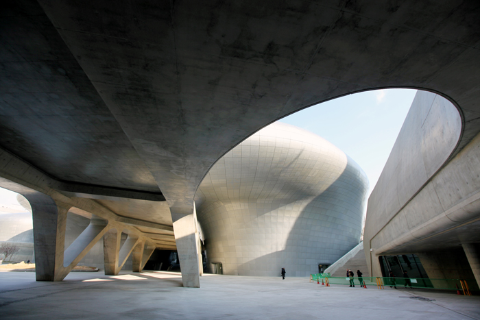 Curved Architecture Merges With Landscape Korea Net The Official Website Of The Republic Of