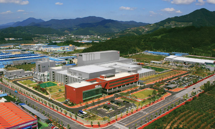 The Dong Wha Pharm factory is in Chungju, North Chungcheong Province.