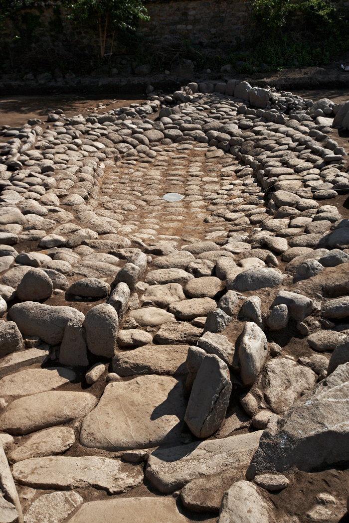 The ruins of a garden and pond are found at Silsangsa Temple in Namwon, Jeollabuk-do. (photo: the CHA)