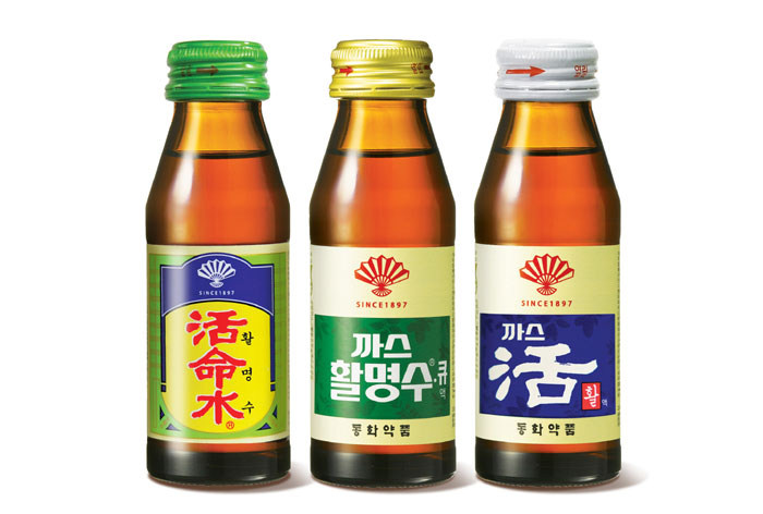 Three varieties of Whal Myung Su can be bought today: (From left) Whal Myung Su, Gas Whal Myung Su and Gas Whal.