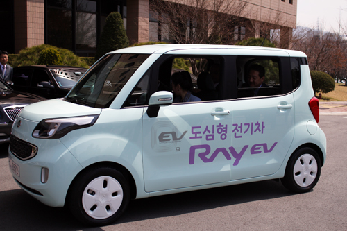 The Ray EV is Korea's first mass-produced electric vehicle