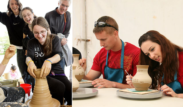 The Icheon Ceramics Festival offers a variety of interactive and hands-on activities, making it a particular favorite among foreign tourists to Korea (photo courtesy of Icheon City).