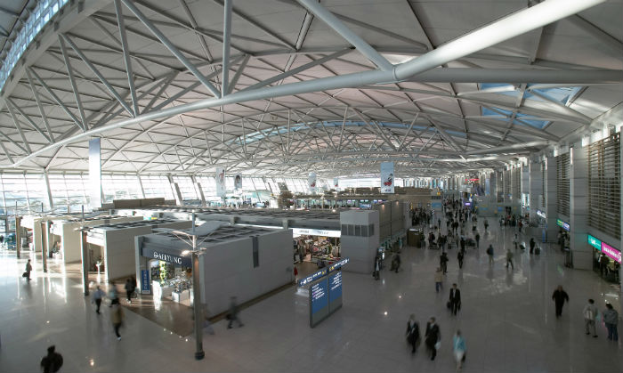 Incheon International Airport Terminal (photo courtesy of Incheon International Airport Corporation).