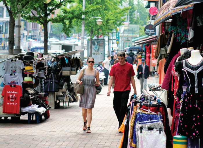 Itaewon. The Korean hub of international cultures