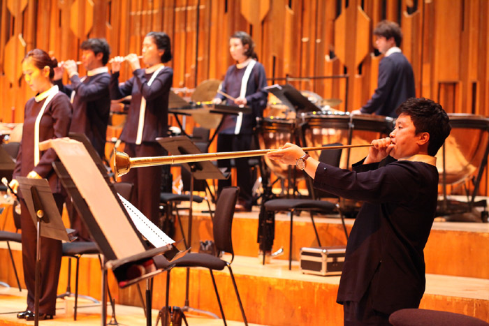 The National Orchestra of Korea presents the opening performance of the K-Music Festival at the Barbican Centre in London on June 14 (photo from Korean Cultural Centre UK Flicker).