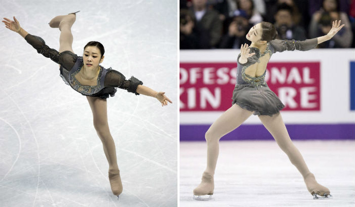 Kim Yuna performs flawlessly at the free skating competition on March 17 at the World Figure Skating Championships in London, Ontario, Canada (photo: Yonhap News).