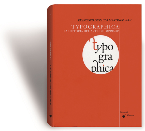Cover of the book Typographica (courtesy of Korean Embassy in Spain)