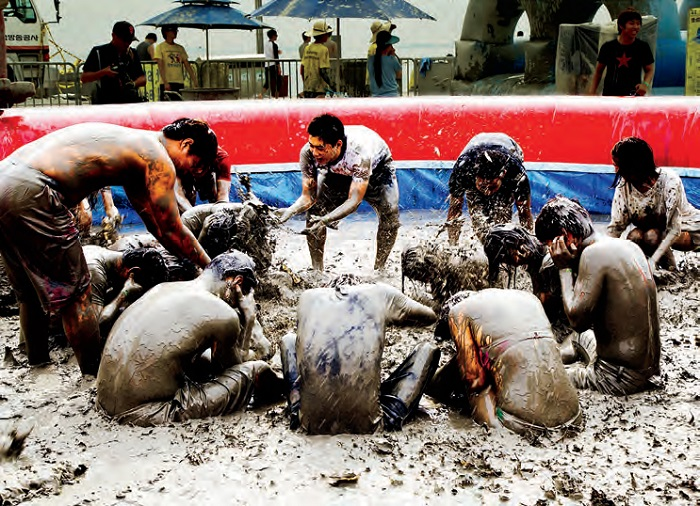 Boryeong Mud Festival. One of the most popular summer festivals in Korea today, the Boryeong Mud Festival attracts tens of thousands of international holidaymakers every year.