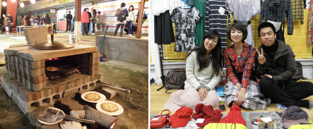 Nambu Market in Jeonju has young sellers who promote the market and their businesses through the Youth Night Market program (Photo: Gonggam Korea).