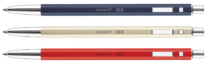 Monami recently introduced the Monami 153 ID. It won instant popularity upon its release. It is an upgraded, luxury version of the original 153 ballpoint pen.