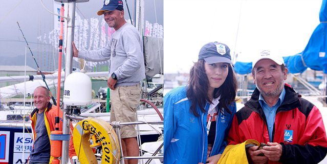 The Korea Cup International Yachting Race 2012 saw international participants from countries such as Russia, England, and the United States (photos courtesy of the Korea Cup Organizing Committee).