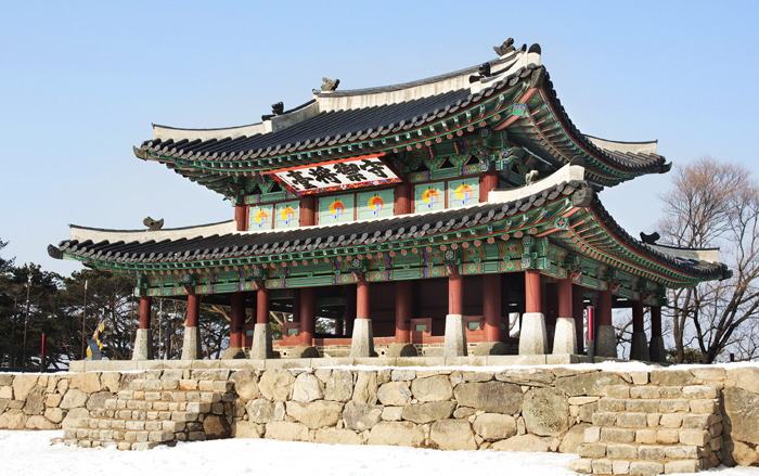 The Sueojangdae is a command post for kings at the Namhansanseong fortress. (photo courtesy of the Namhansanseong Culture & Tourism Initiative)