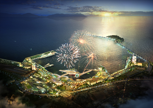 Yeosu Expo is one of the world's three greatest festivals of this year. It is a good way to see how humanity is exploring ways to coexist with the sea and create a better future (photo courtesy of the 2012 Yeosu Expo Korea).