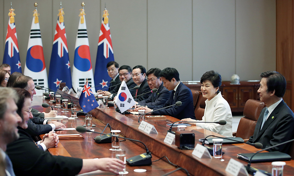 Korea - New Zealand Summit