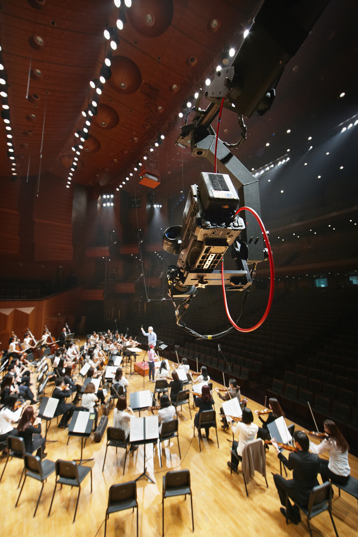 The SAC Saturday Concert is being videotaped at the Seoul Arts Center on November 16. (photo courtesy of the SAC)