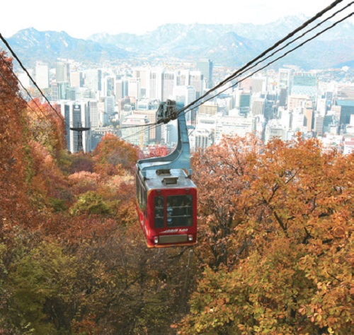 Mt. Namsan is a symbol of Seoul itself : Korea.net : The official website  of the Republic of Korea